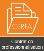 CERFA contrat de professionnalisation