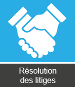 resolution des litiges